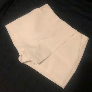 White skort (skirt with shorts under)